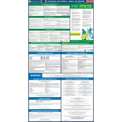 2021 Colorado State and Federal All-In-One Labor Law Poster