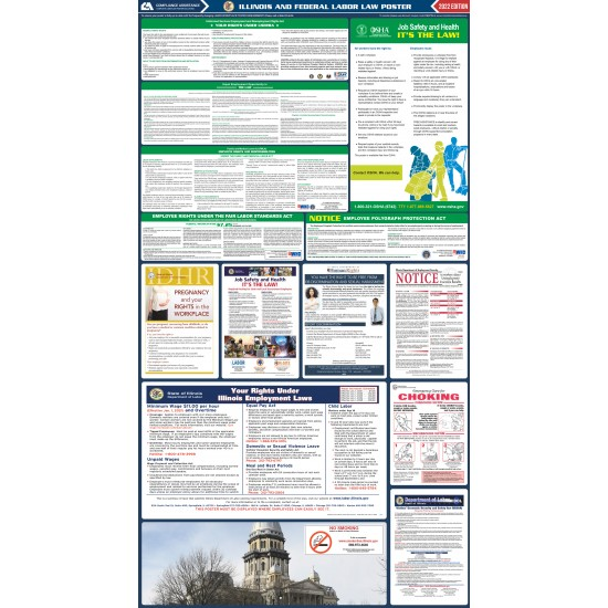 2021 Illinois Digital State and Federal Labor Law Poster