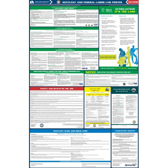 2021 Kentucky Digital State and Federal Labor Law Poster