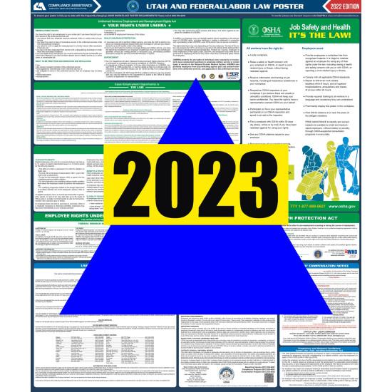 2021 Utah Digital State and Federal Labor Law Poster