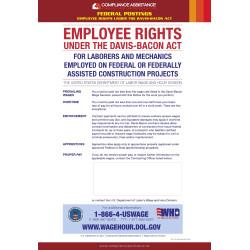 Davis-Bacon Poster - Government Construction