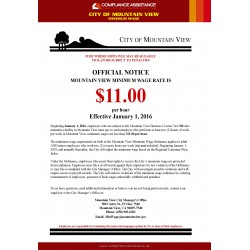 City of Mountain View Minimum Wage