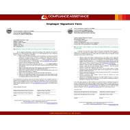 City of Flagstaff  Employer Signature Form