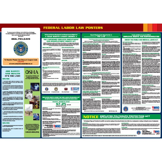 2021 Federal Digital All-In-One Labor Law Poster